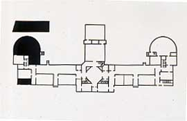 Plans for the original college building